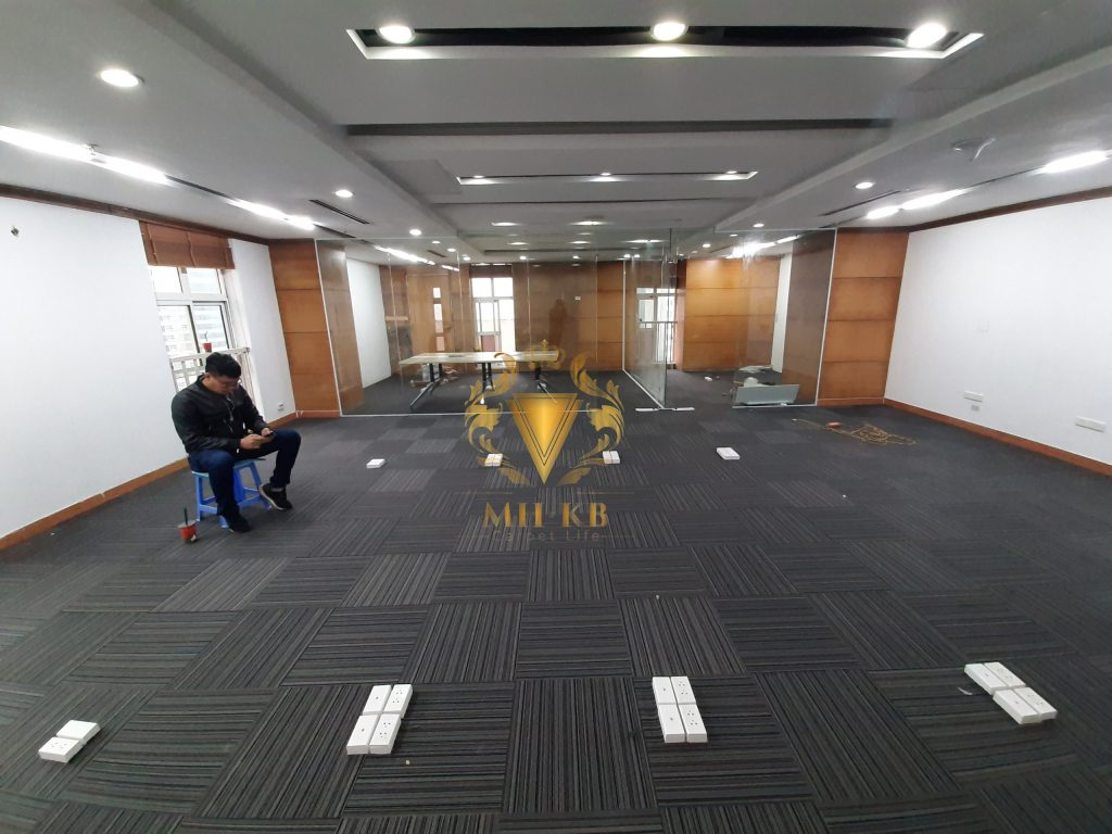 Dịch vụ thi công thảm văn phòng của MHKB Group