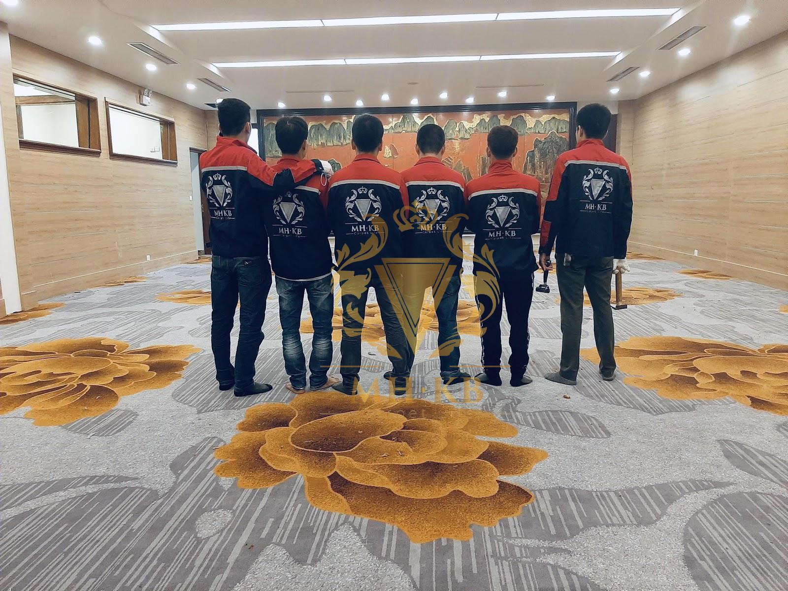 Đội ngũ thợ thi công của MHKB
